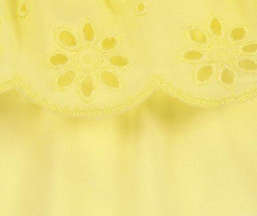 kinder t-shirt geel geel - 1000019699 - HEMA