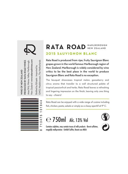 rata road marlborough sauvignon blanc - wit - 17371133 - HEMA