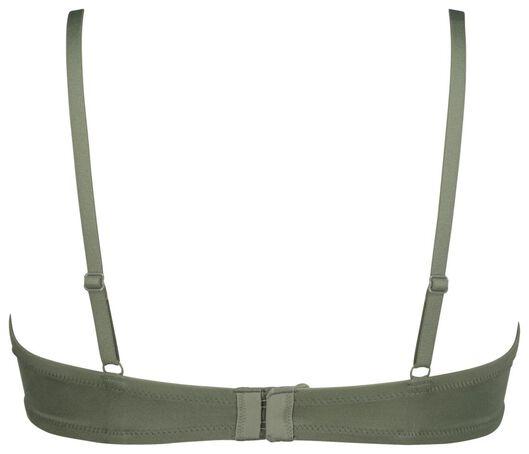 padded bh ultimate comfort groen 90C - 21810279 - HEMA