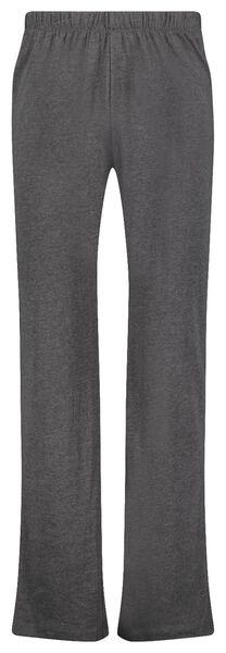 herenpyjama strepen grijsmelange grijsmelange - 1000025088 - HEMA