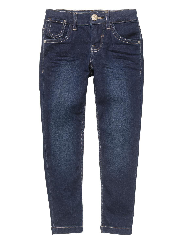 HEMA Kinder Jeans Skinny Fit Donkerblauw (donkerblauw)