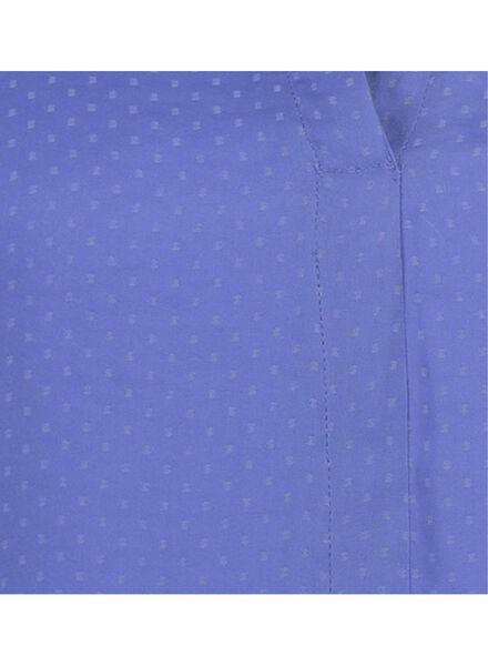 dames top zeeblauw XL - 36285230 - HEMA