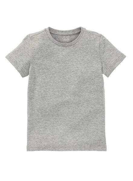 kinder t-shirt - biologisch katoen ligr ligr - 1000003388 - HEMA
