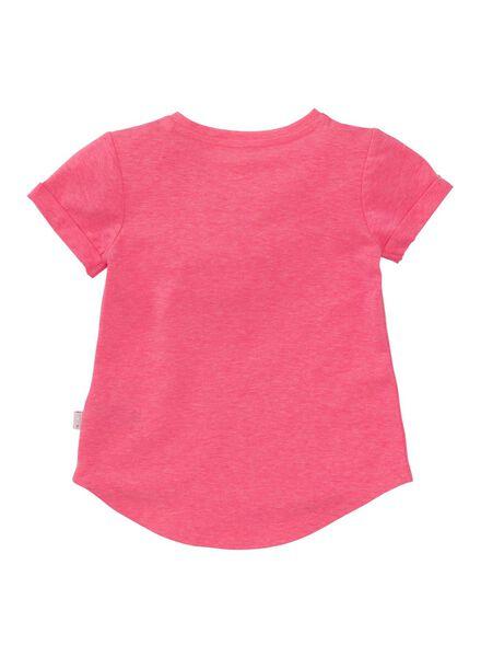 kinder t-shirt felroze felroze - 1000007609 - HEMA