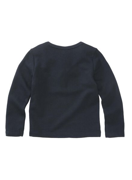 kinder sweater donkerblauw donkerblauw - 1000011252 - HEMA