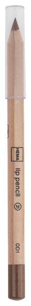 lip pencil bruin - 11230121 - HEMA
