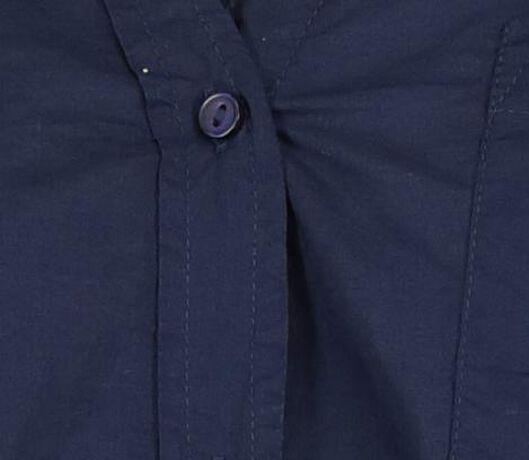 damesblouse donkerblauw donkerblauw - 1000018450 - HEMA