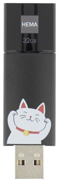 USB-stick 32GB - lucky cat - 39580006 - HEMA