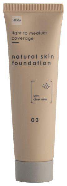 foundation natural skin 03 - 11290323 - HEMA
