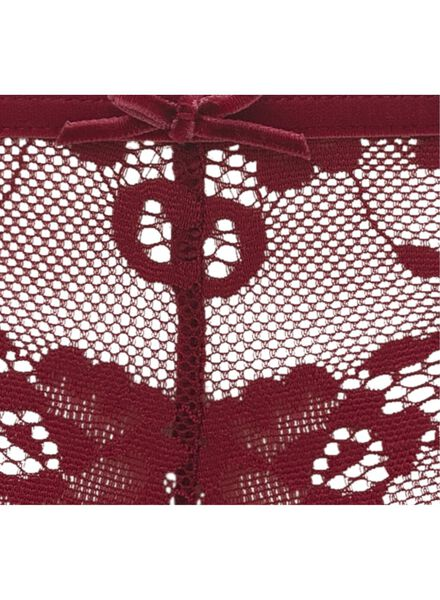 dameshipster rood rood - 1000010570 - HEMA