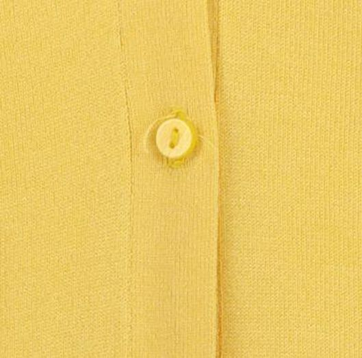 damesvest geel geel - 1000019602 - HEMA