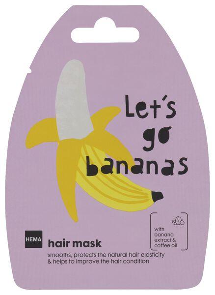 haarmasker banaan - 20 g - 11000050 - HEMA