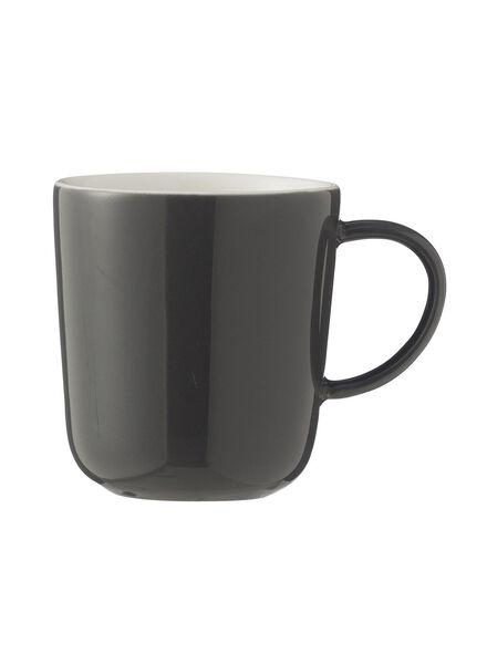 koffiemok - 130 ml - Chicago - donkergrijs 130 ml donkergrijs - 9680051 - HEMA