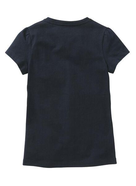 2-pak kinder t-shirts donkerblauw donkerblauw - 1000006191 - HEMA
