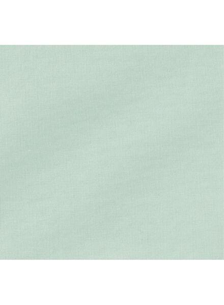 romper organic katoen stretch mintgroen 50/56 - 33389211 - HEMA