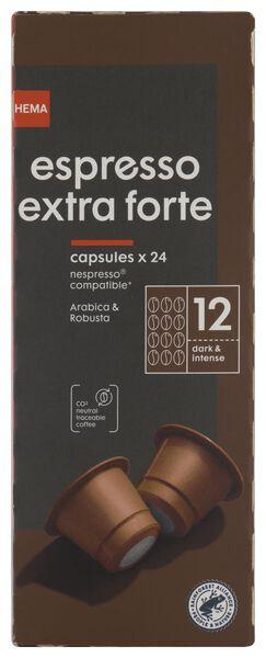 Koffiecups espresso extra forte - 24 stuks