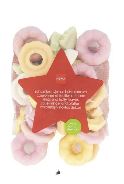 schuimkransjes en hulstblaadjes 375 gram - 10040005 - HEMA