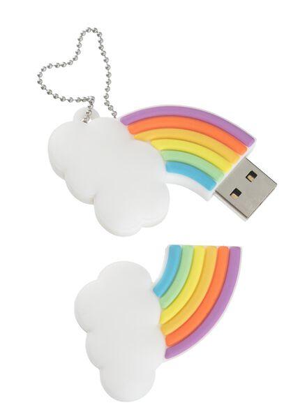 USB-stick 8GB regenboog - 39520028 - HEMA