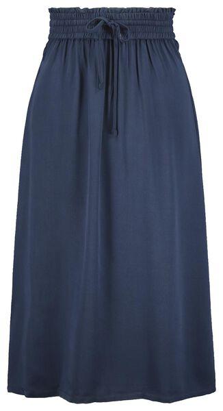damesrok blauw blauw - 1000021166 - HEMA