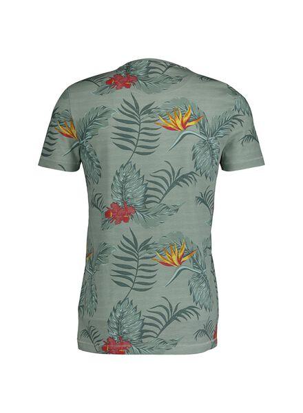 heren t-shirt lichtgroen lichtgroen - 1000014397 - HEMA