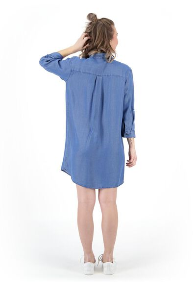 damestuniek middenblauw middenblauw - 1000019473 - HEMA