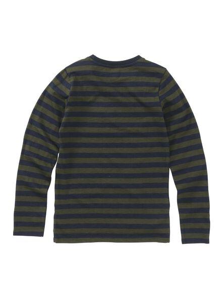 kinder t-shirt donkerblauw donkerblauw - 1000008581 - HEMA