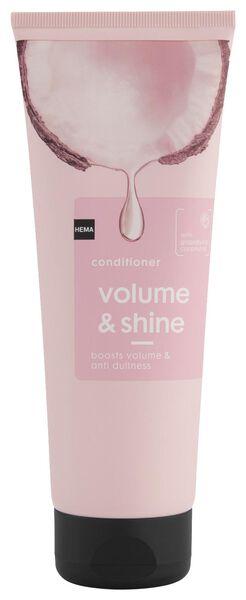 crèmespoeling volume & shine 250ml - 11067108 - HEMA