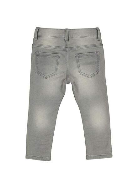 baby jogdenim grijs grijs - 1000014359 - HEMA