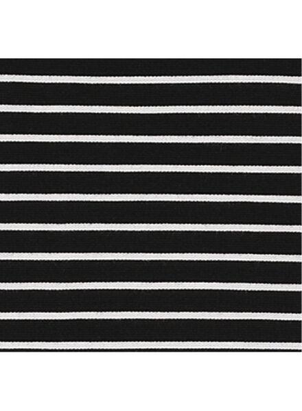 damesjurk zwart/wit zwart/wit - 1000008721 - HEMA
