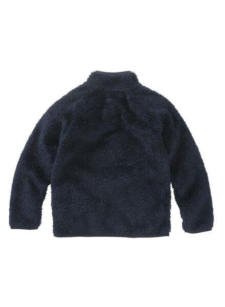 kindervest donkerblauw donkerblauw - 1000011182 - HEMA