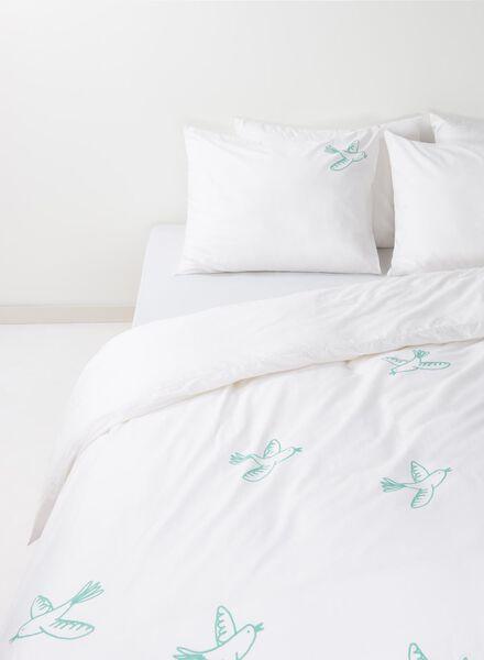 soft cotton dekbedovertrekset 200 x 200 cm - 5700033 - HEMA