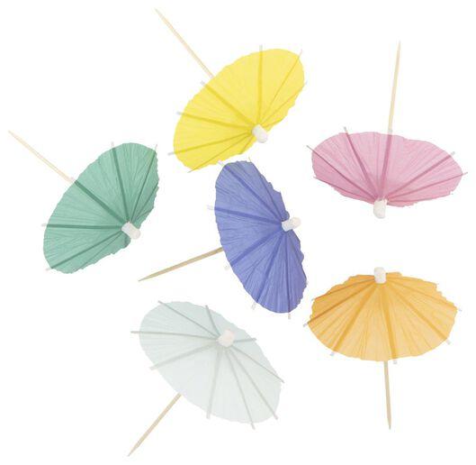 cocktailprikkers parasol - 25 stuks - 14230267 - HEMA