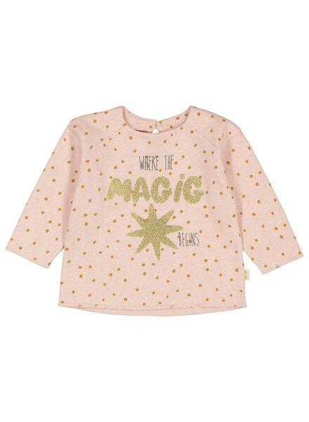 babysweater magic oudroze - 1000017395 - HEMA