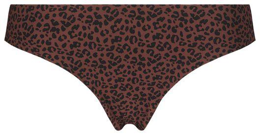 B.A.E. damesstring animal bruin M - 21321233 - HEMA