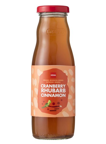 groentesap cranberry & rabarber & kaneel - 330 ml - 17456485 - HEMA