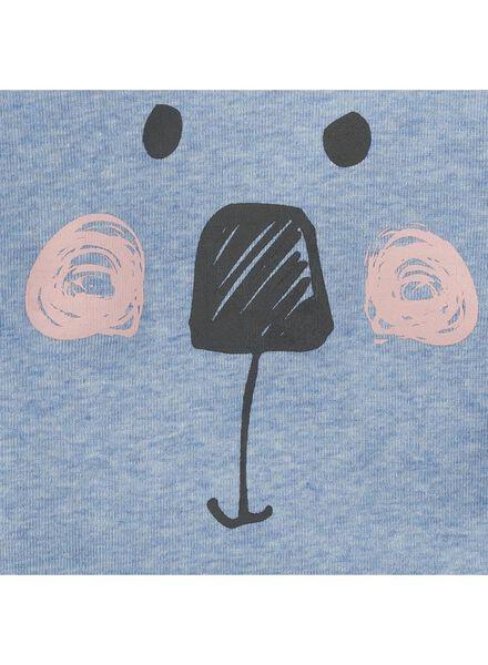 baby meisjes pyjama blauw - 1000004992 - HEMA