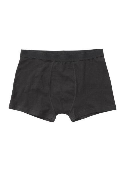 3-pak herenboxers zwart zwart - 1000001221 - HEMA
