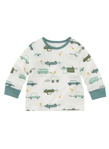 2-pak baby pyjama's blauw blauw - 1000012139 - HEMA