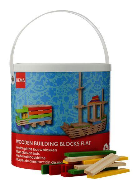 houten platte bouwblokken - 15110226 - HEMA
