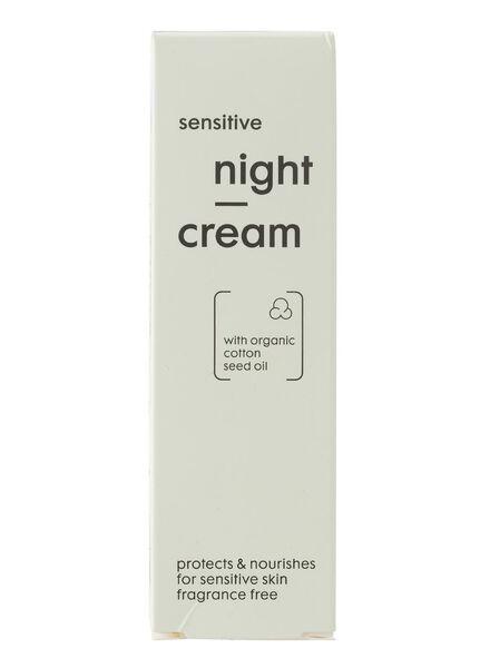 nachtcrème sensitive - 17870021 - HEMA