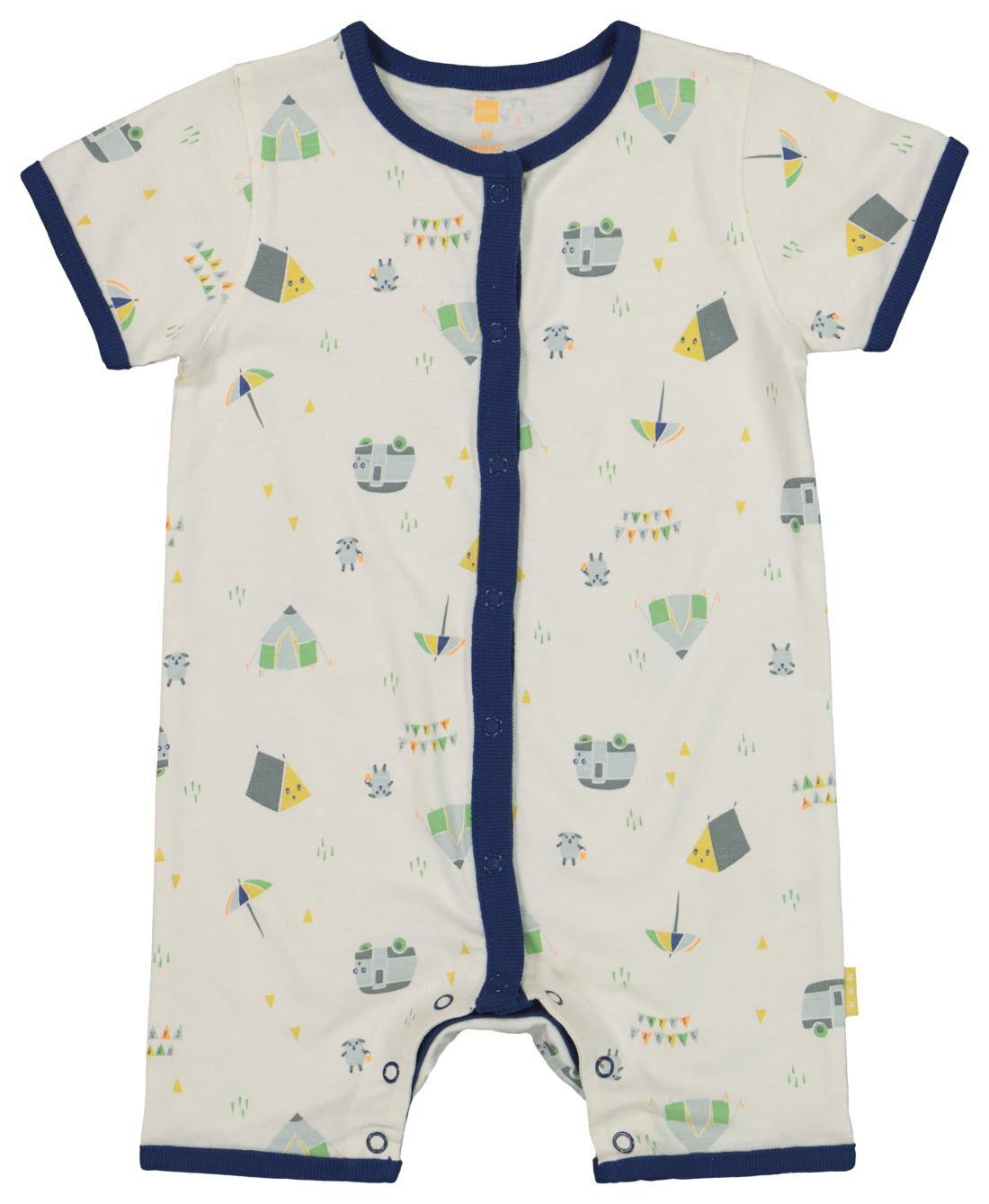 HEMA Newborn Jumpsuit Wit (wit)