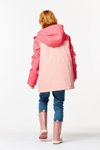 kinderjas roze 110/116 - 30896572 - HEMA