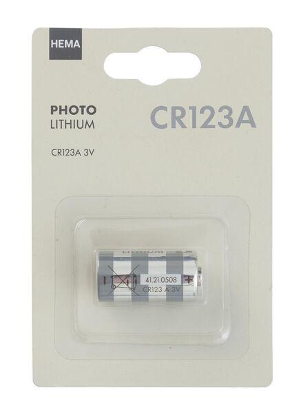 photo lithium CR123A batterij - 41210508 - HEMA