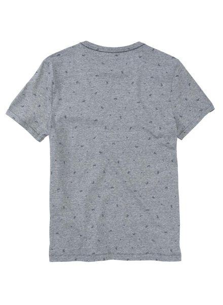 heren t-shirt donkerblauw donkerblauw - 1000011523 - HEMA