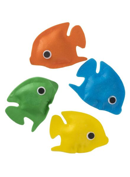 4-pak badvisjes met confetti - 11342110 - HEMA