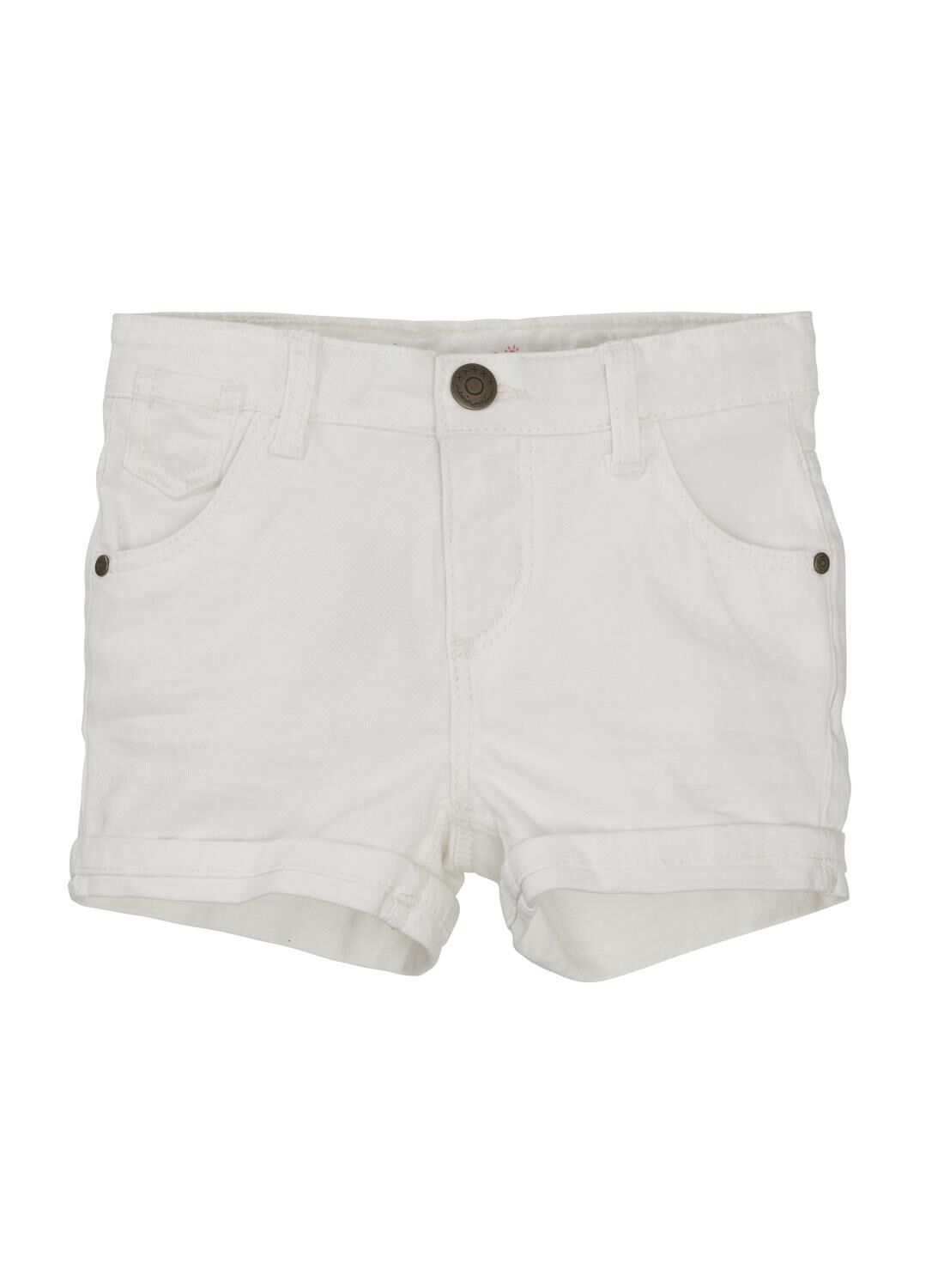 HEMA Kinder Skinny Short Wit (wit)