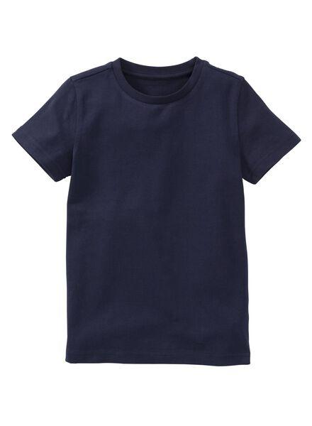 jongens t-shirt - biologisch katoen dobl dobl - 1000003394 - HEMA