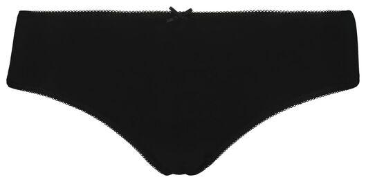 3-pak dameshipsters zwart/wit zwart/wit - 1000018556 - HEMA