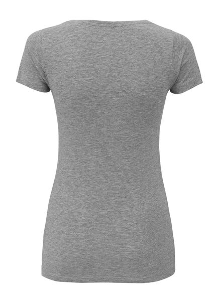 dames t-shirt lichtgrijs lichtgrijs - 1000004638 - HEMA