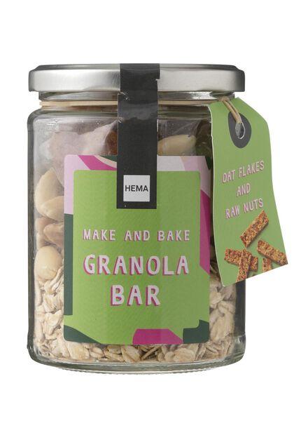 make en bake granola repen - 60910018 - HEMA